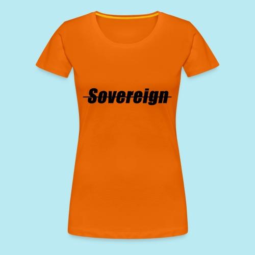 Sovereign Dash Black - Women's Premium T-Shirt