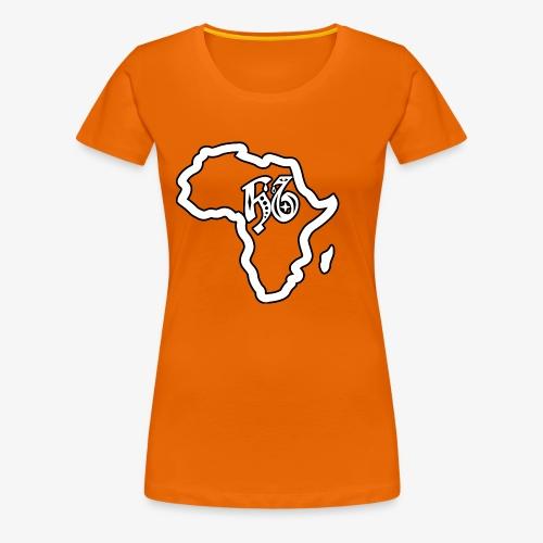 afrika pictogram - Vrouwen Premium T-shirt
