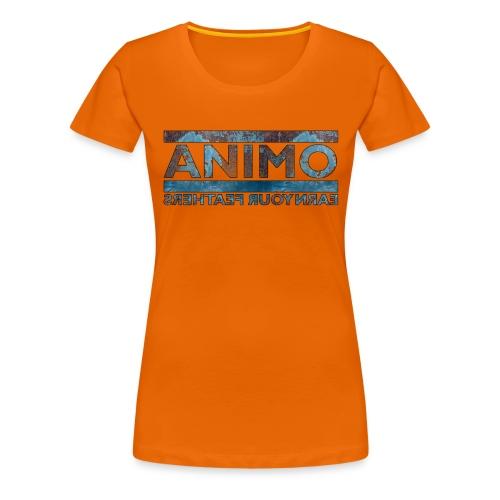 rustb png - Vrouwen Premium T-shirt