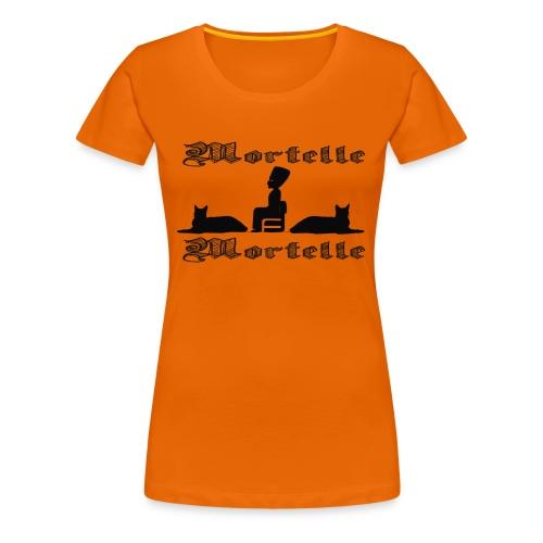 mortellemortelle - T-shirt Premium Femme