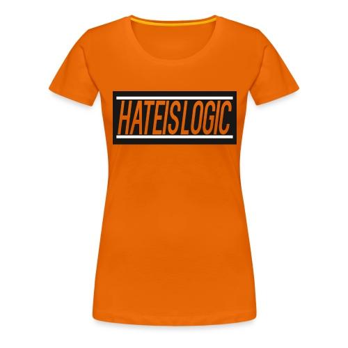 Hateislogic Official Brand - Women's Premium T-Shirt