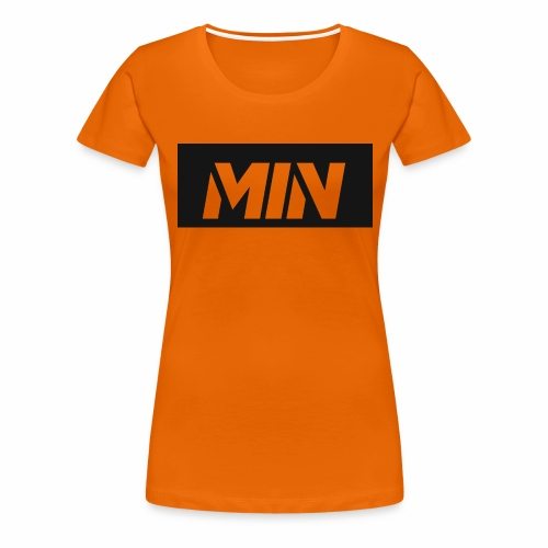 MIN Products for fans - Women's Premium T-Shirt