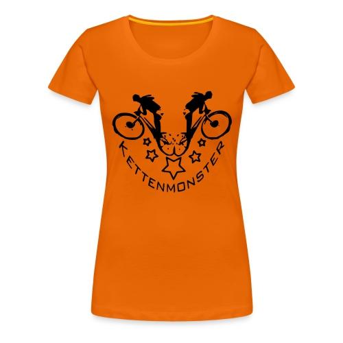 Kettenmonster Biker - Frauen Premium T-Shirt