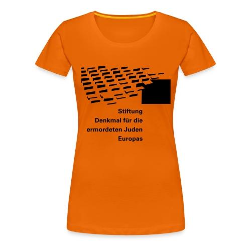 logo stiftung 1f - Frauen Premium T-Shirt