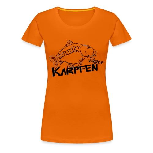 Karpfenjäger - Frauen Premium T-Shirt