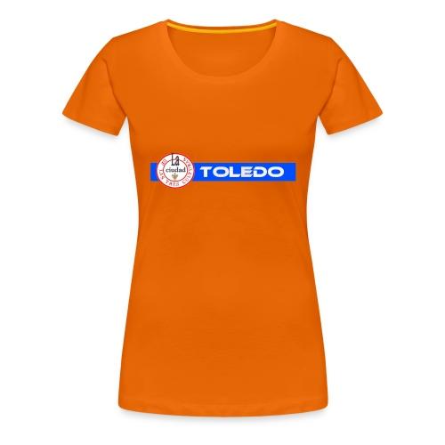 TOLEDO 3 CULTURAS trans png - Camiseta premium mujer