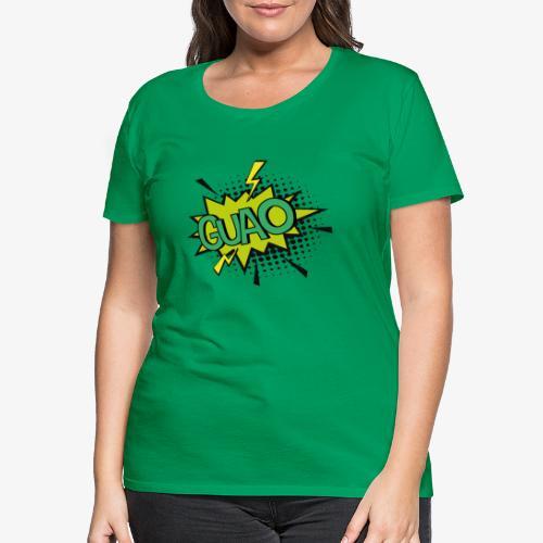 Serie de dibujos animados de los 80s - Camiseta premium mujer