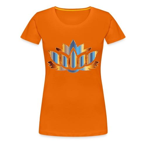Lotus - Frauen Premium T-Shirt
