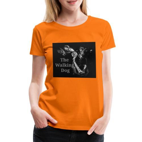 The Walking Dog - Frauen Premium T-Shirt
