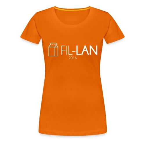 Fil-LAN - Premium-T-shirt dam