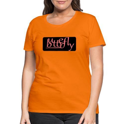 Butterfly - T-shirt Premium Femme