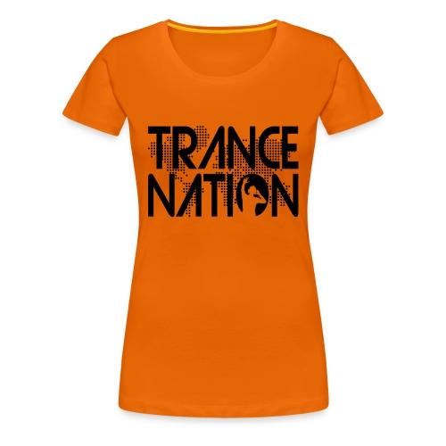 Trance Nation (Black) - Premium-T-shirt dam