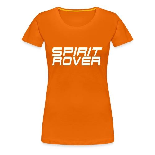 SpiritRover Title White - Frauen Premium T-Shirt