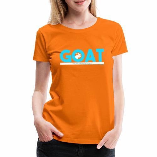 GOAT - Vrouwen Premium T-shirt