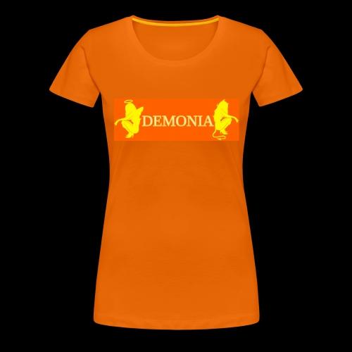 orange Demonia - T-shirt Premium Femme