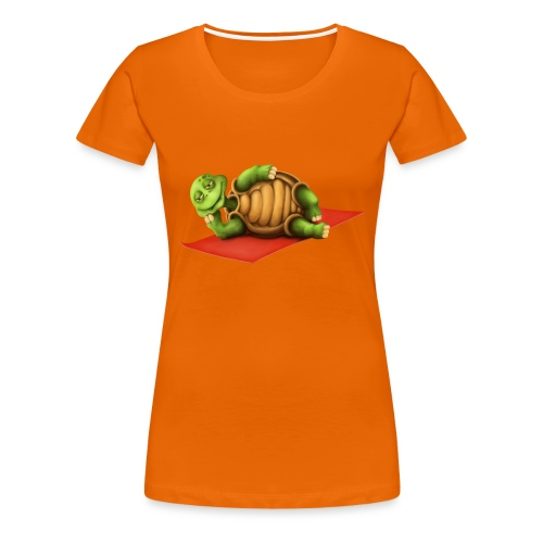 Yoga Vishnu Turtle - Frauen Premium T-Shirt