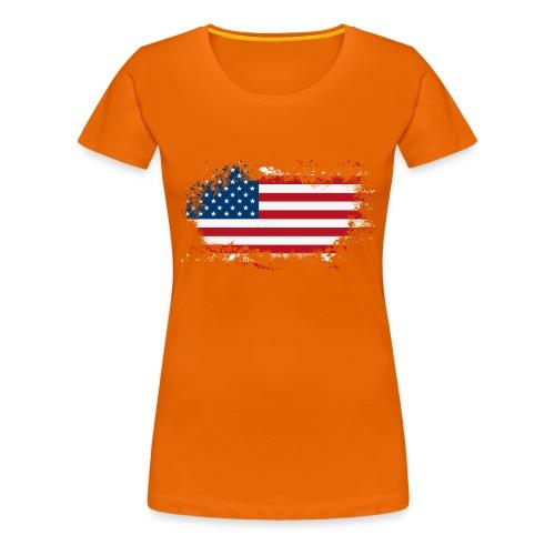 America - Vrouwen Premium T-shirt