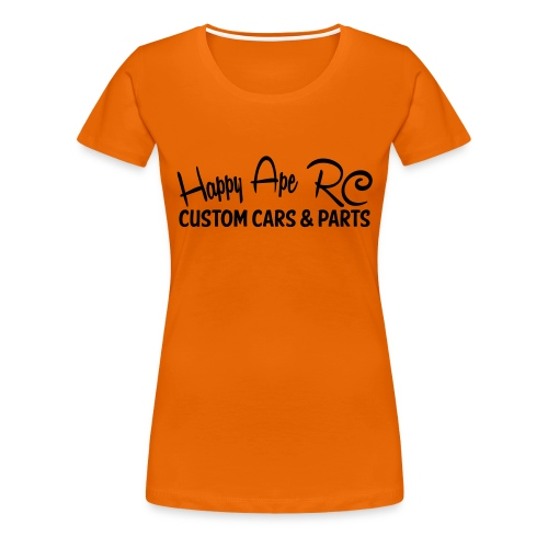 HappyApe t-shirt large text - Premium-T-shirt dam