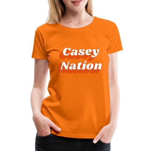 CaseyNation - Premium-T-shirt dam
