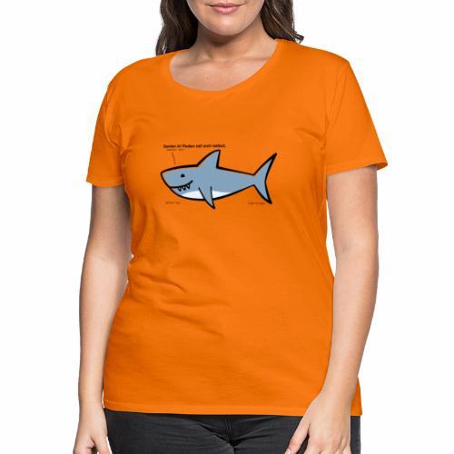 Weiser Hai - Frauen Premium T-Shirt