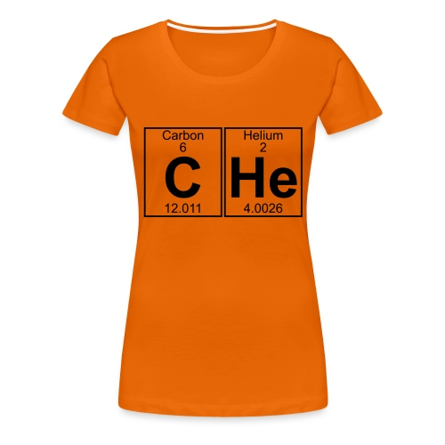 C-He (che) - Full - Women's Premium T-Shirt