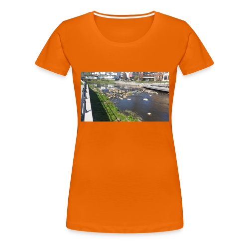 Norrtäljeån - Premium-T-shirt dam