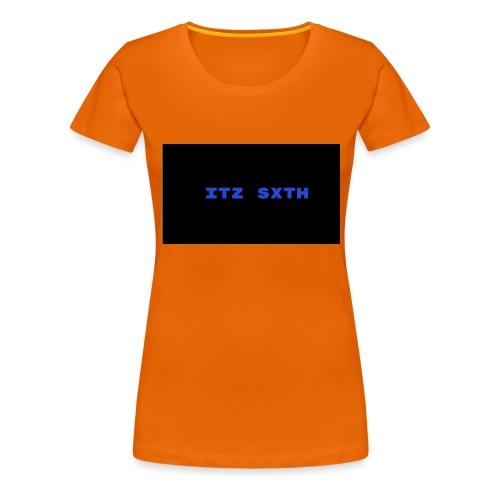 Itz Sxth Navy Clothing - Women's Premium T-Shirt