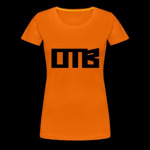 OTB Logo Black - Women's Premium T-Shirt