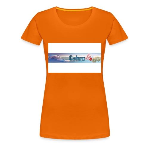 Gabrox - Koszulka damska Premium