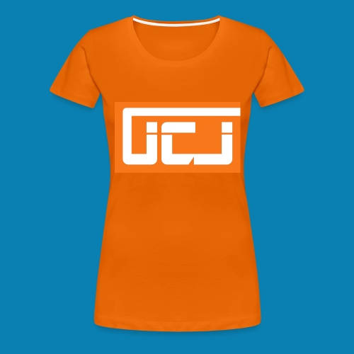 JCJ Orange - Women's Premium T-Shirt