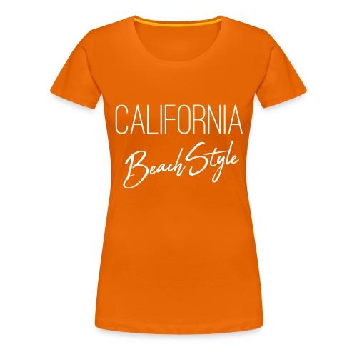 California Beach Style Shirt - Frauen Premium T-Shirt