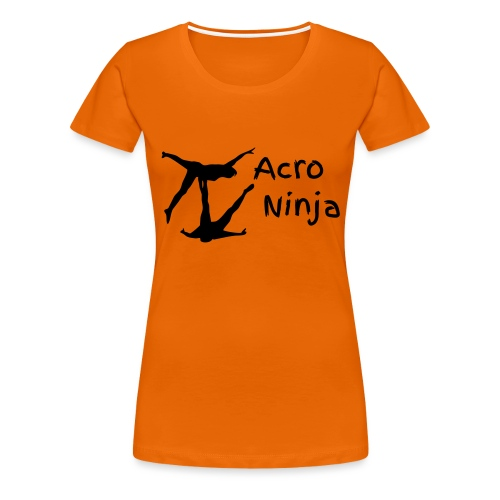 Acro Yoga Croc by AcroNinja - Women's Premium T-Shirt