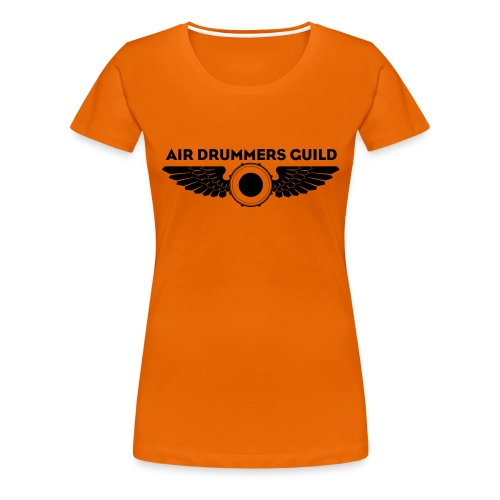 ADG Drum'n'Wings Emblem - Women's Premium T-Shirt