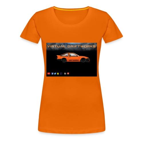 virtual driftworks preview - Women's Premium T-Shirt
