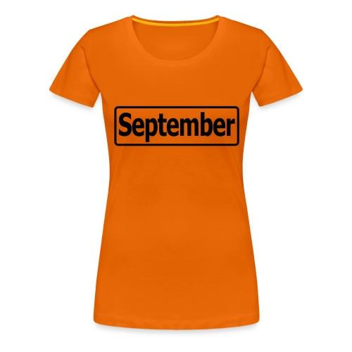 september2 - Frauen Premium T-Shirt
