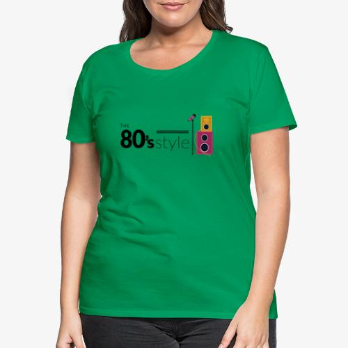 80s - Camiseta premium mujer