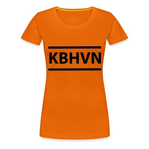 KBHVN 06 01 - Dame premium T-shirt