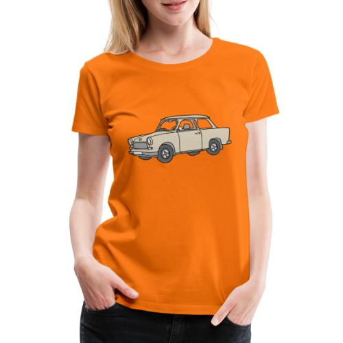 Trabi, Trabant (papyrus) - Frauen Premium T-Shirt