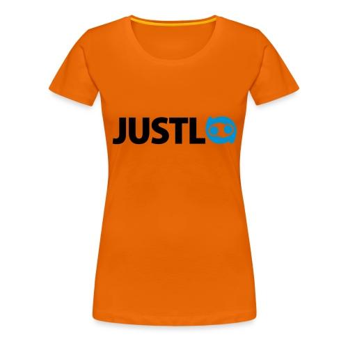 Justlo Logo - Frauen Premium T-Shirt