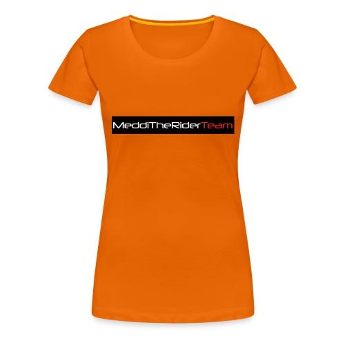 MeddiTheRiderTeam - Maglietta Premium da donna