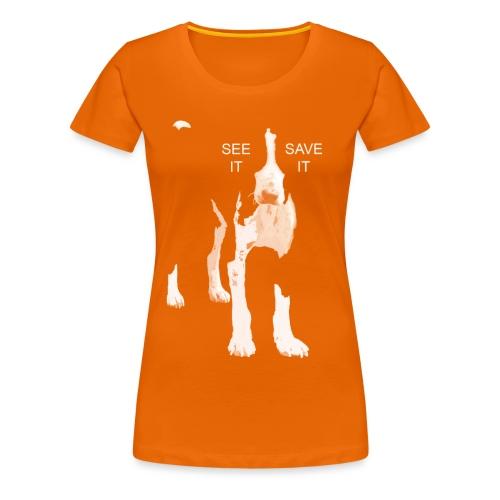 Voir - Enregistrez - T-shirt Premium Femme
