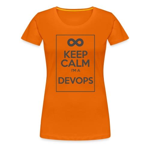 Keep Calm I'm a devops - Women's Premium T-Shirt