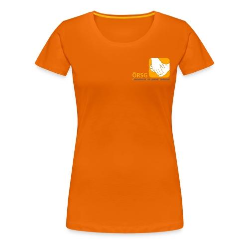 Logo der ÖRSG - Rett Syndrom Österreich - Frauen Premium T-Shirt