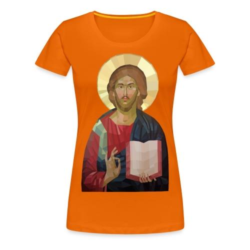 Abstract Jesus - Women's Premium T-Shirt