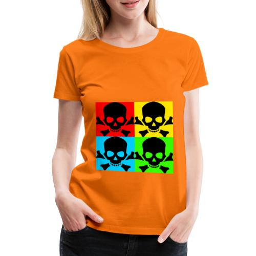 Art Skull - Women's Premium T-Shirt