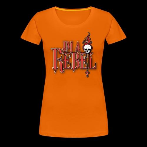rebel - Premium-T-shirt dam