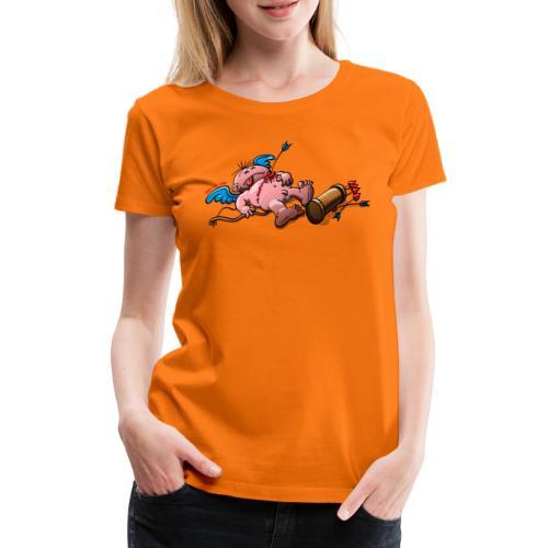 Who Killed Cupid? - Women's Premium T-Shirt