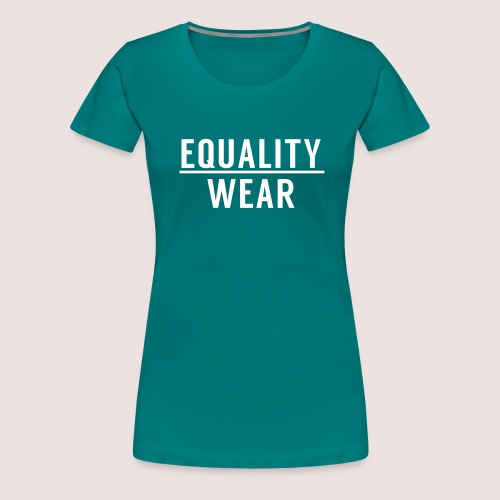 Equality Wear Official Pattern - Women's Premium T-Shirt