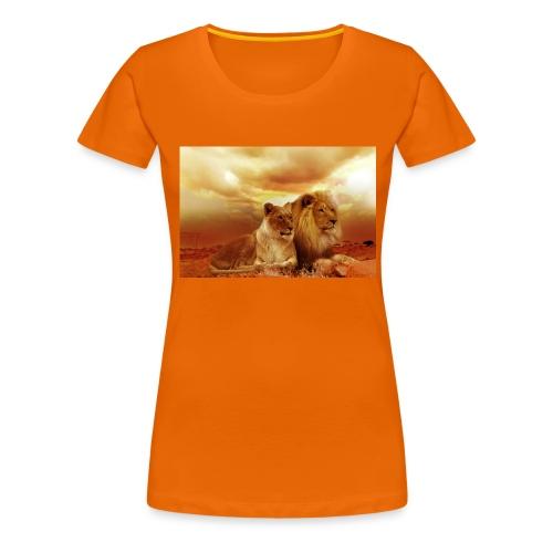 Löwen Lions - Frauen Premium T-Shirt