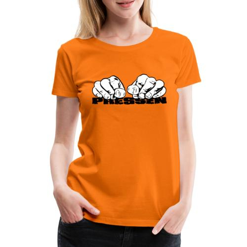 Pressen ist angesagt - Frauen Premium T-Shirt